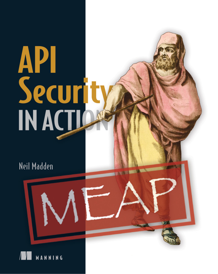 API Security in Action book cover